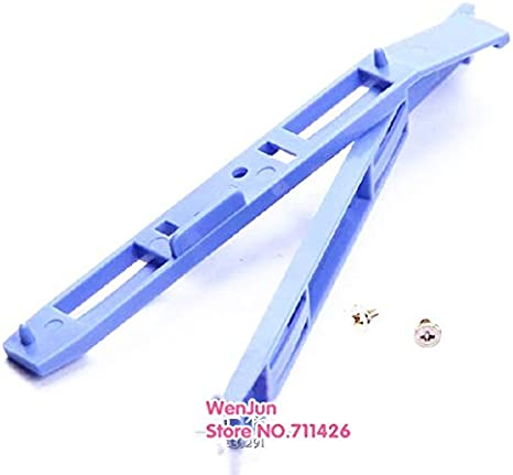 Computer Cables 2 Pairs Upgrade Version Bracket for HDD Cage 3.5 to 5.25 Hard Drive HDD Tray Converter Caddy with Yoton Cable Length: 3pairs, Color: Blue with Screw