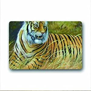 "Tiger Doormat Outdoor Indoor 18""x30"" about 46cmx76cm"