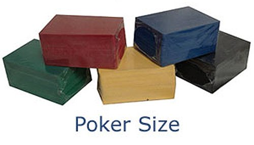 100 CUT CARDS POKER SIZE (WIDE) GREAT FOR BLACKJACK POKER OR CARD GAMES by Spinettis