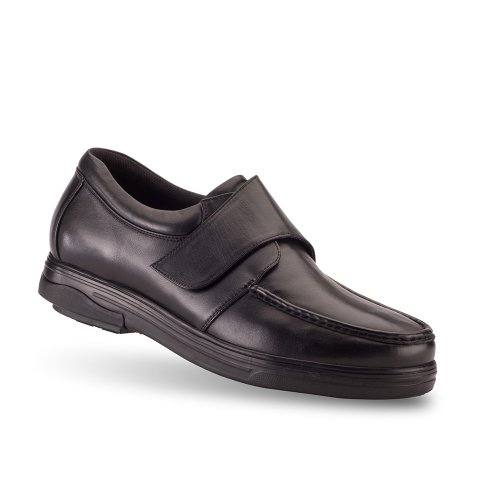 Londonian Black Monk Men's Style Gravity Defyer Loafers RwpEWqC