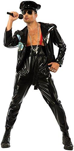 Rubie's Costume Co Men's Freddy Mercury Costume, Black, X-Large