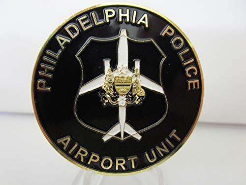 Philadelphia Police Airport Unit 8 Philadelphia Police Department Challenge Coin ()