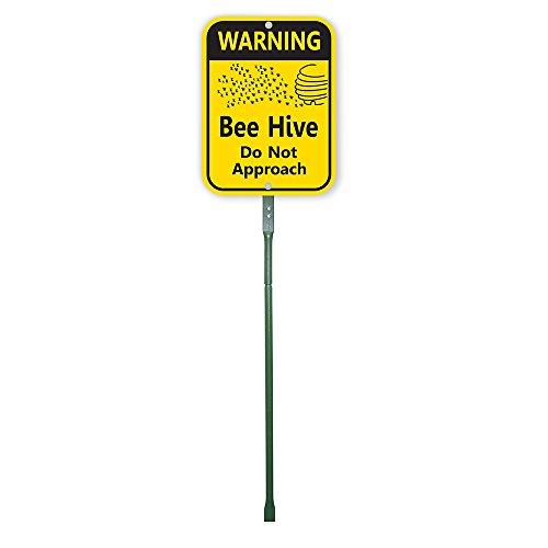 Bee Hive Aluminum Sign