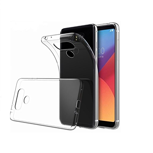 HANDYHÜLLE Schutzhülle Silikon Case Schutz Cover Transparent Clear von ZhinkArts für Huawei Y6 II