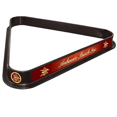 Anheuser Busch Triangle Billiard Ball Rack