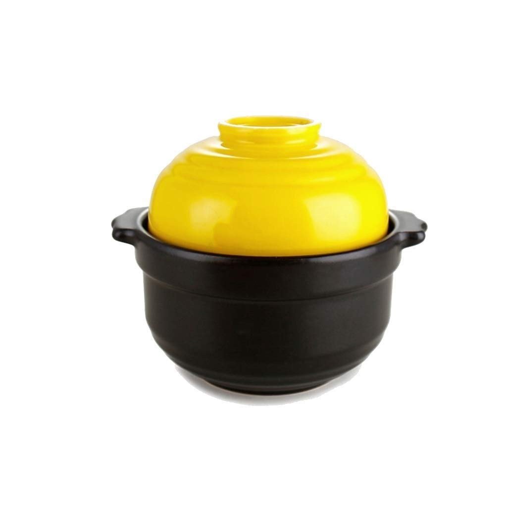 SHICCF Casserole - Enameled Oven. Classic Enamel Cast Iron Oven Stoneware Petite Round Casserole (Color : A) by SHICCF