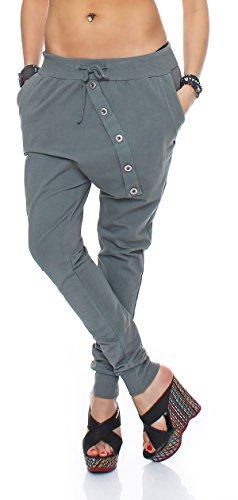 Italy Style - Pantalón - para mujer gris