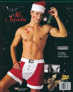 Mens sexy santa
