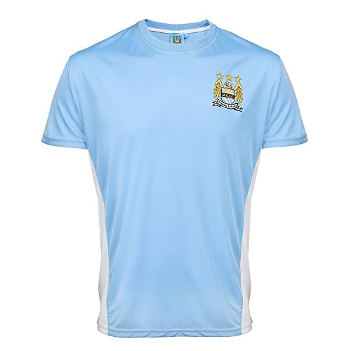 Manchester City Official Adults Performance T-Shirt – DiZiSports Store