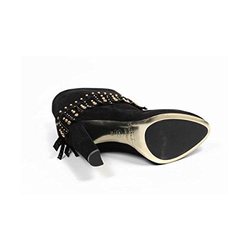 Sebastian Milano Leder Stiefel Damen/Damen-Bootsschuhe Fersen 10.5 cm