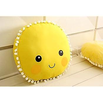Amazon.com: IKEA SOLIGT cojín almohada amarillo naranja ...