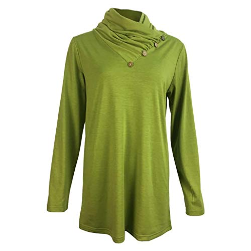 DAYLIN Courtes Femme Top Solid V Dcontract Green Col Chemisier Manches rrwUZ