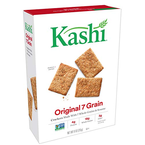 ((Discontinued By Manufacturer) Kashi, Crackers, Original 7 Grain, Non-GMO Project Verified, 9 oz )