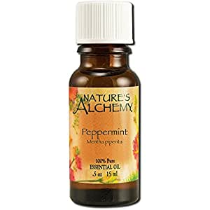 Nature's Alchemy Essential Oils, Peppermint 0.5 oz (Pack of 2)