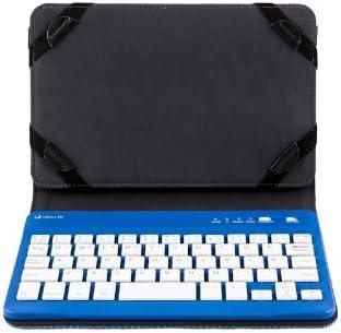 Silver HT Keyboard Bluetooth 7 + Case 19144 - Funda Silverht + Teclado Bluetooth para Tablets 7 Azul