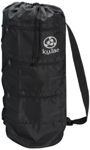 Kulae Yoga Mat Bag - Black (Large)