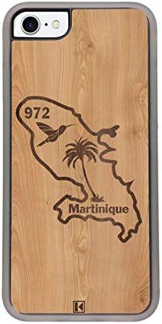 Martinique 972 THEKLIPS/® iPhone 8 Coque iPhone 7