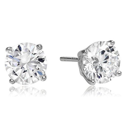 Sterling Earrings Zirconias Regetta Jewelry