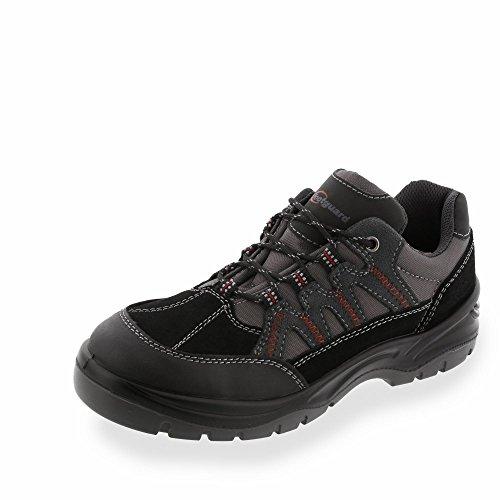 footguard Innovación Low Seguridad Zapatilla de S1P Src negro / gris
