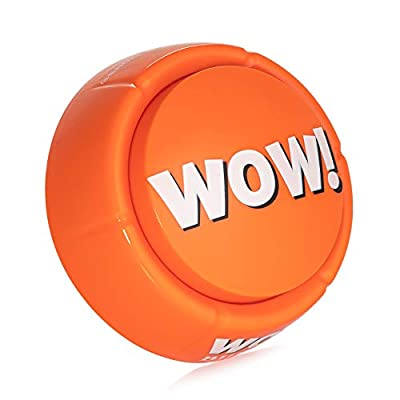 WOW Button - Pressing This Button is a Blast! Brighten up Your Desk Space!: Toys & Games