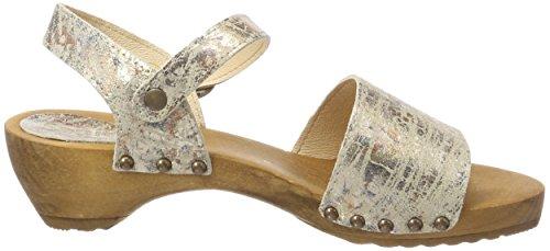 Sanita Donna 14 Sandali Carrara Multicolore Caviglia Alla Con natur Cinturino BwBrqO6S