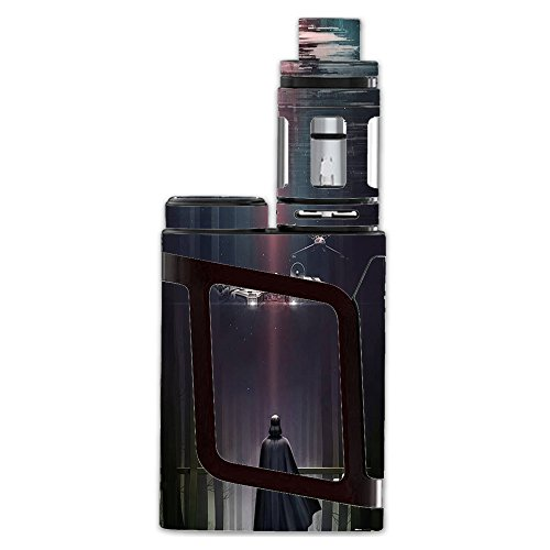 Skin Decal Vinyl Wrap For Smok Al85 Alien Baby Kit Vape Mod Stickers Skins Cover  Darth At Death Star
