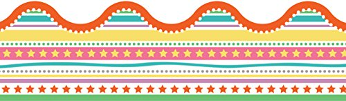 Up and Away Star Fair Scalloped Borders Bulletin Board Decorations