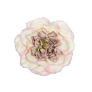 10Pcs / Lot Peony Flower Head Silk Artificial Flower Wedding Decoration DIY Garland Craft Flower,8 17