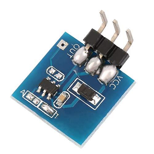 Modulo sensore touch capacitivo autobloccante TTP223 pi/ù recente per Arduino Colore blu allingrosso Blu