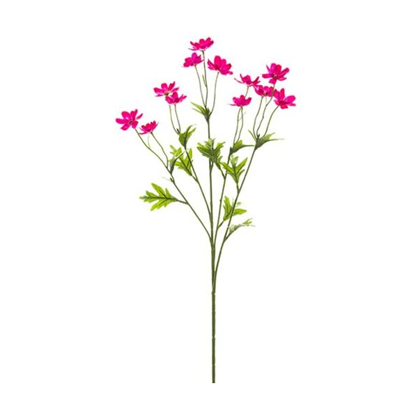 27″ Silk Mini Cosmos Flower Spray -Beauty (Pack of 12)