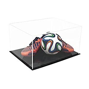 "Acrylic Deluxe Clear Display Case - Large Rectangle Box 15.25"" x 12"" x 8"" (A026-DS)"