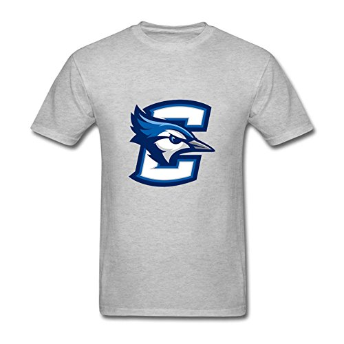 [New Men Creighton University Seal 100% Cotton Short Sleeve T Shirts Grey XXL Costume] (Dead Football Player Costume)