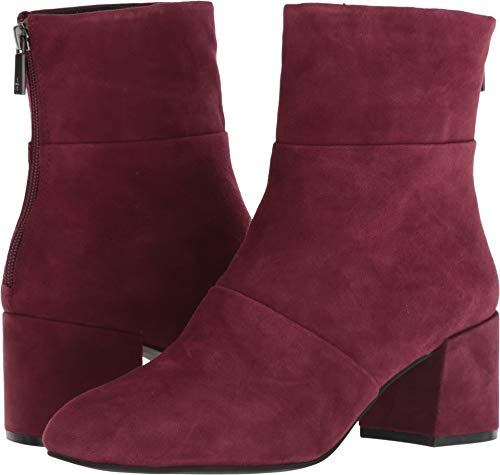 Low Toe York Block Wine New Women's Ankle Square Cole Kenneth Eryc Bootie Heel Xq41wz