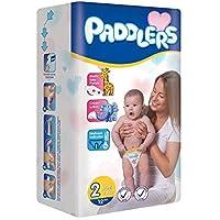 Paddlers Mini 2 Beden 12 Adet (3-6 Kg) Deneme Paketi Bebek Bezi, Beyaz