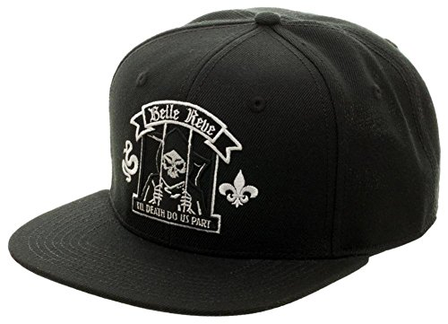 Suicide Squad- Belle Reve Crest Snapback Hat Size ONE SIZE Belle Crest