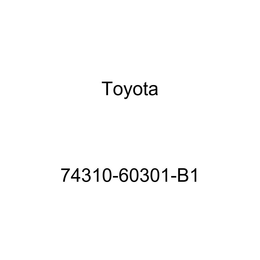 Toyota Genuine 74310-60301-B1 Visor Assembly