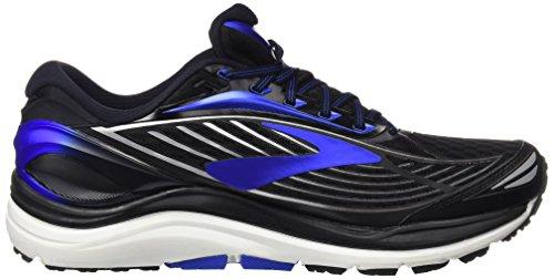Brooks Transcend 4, Zapatos para Correr para Hombre Negro (Black/anthracite/silver)