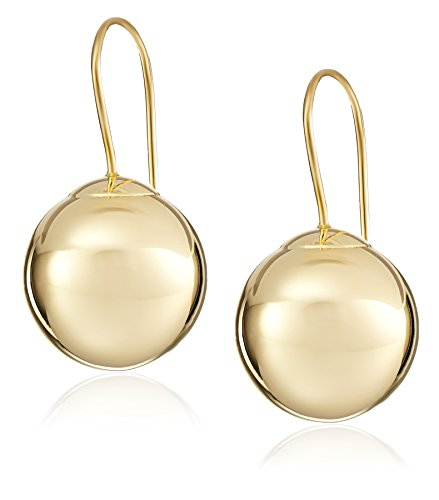 14k Yellow Gold Ball Dangle ()