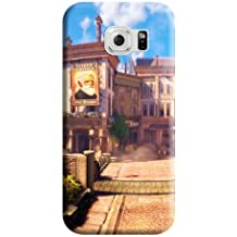 Highquality BioShock Infinite Hot New Designed Phone back Shells Samsung Galaxy S6 Edge