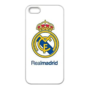 Real Madrid Iphone 4 4S Cell Phone Case White 218y-054992