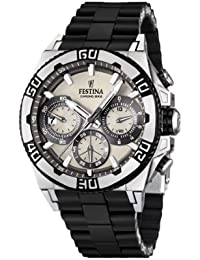 Mens Watch Festina Chrono Bike F16659/1 Tour de France 2 Years Warranty