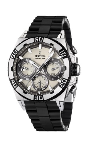 Men's Watch Festina Chrono Bike F16659/1 Tour de France 2 Years Warranty