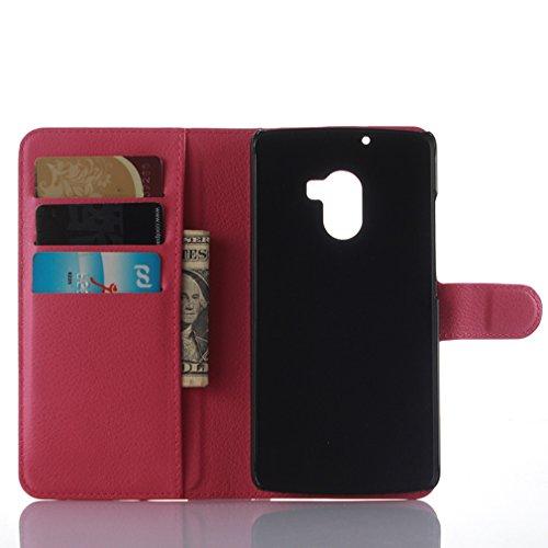 Funda Lenovo K4 note,Manyip Caja del teléfono del cuero,Protector de Pantalla de Slim Case Estilo Billetera con Ranuras para Tarjetas, Soporte Plegable, Cierre Magnético F