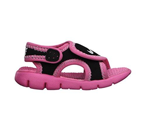 Nike Barn Sunray Justera 4 Småbarn Sandaler Svart / Rosa
