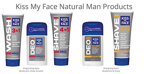 Kiss My Face Natural Man Sports Deodorant, 2.48 Ounce (Pack of 36) by Kiss My Face (Image #6)