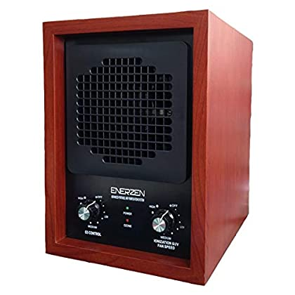 Image of Enerzen by OION Technologies LB-444 Commercial HEPA Air Purifier 3500 Sq. Ft. Ozone Ionizer Cleaner Clean Air Home and Kitchen