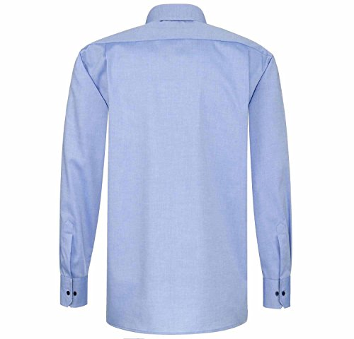 Eterna Long Sleeve Shirt Comfort Fit Pinpoint Uni