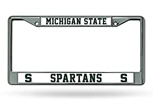 NCAA Michigan State Spartans Chrome Plate Frame