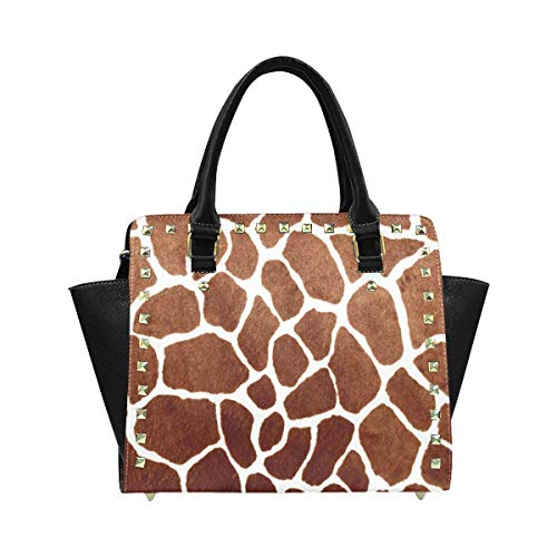 InterestPrint Giraffe Print Hobo Handbags Tote Purse for Women Fashion ()