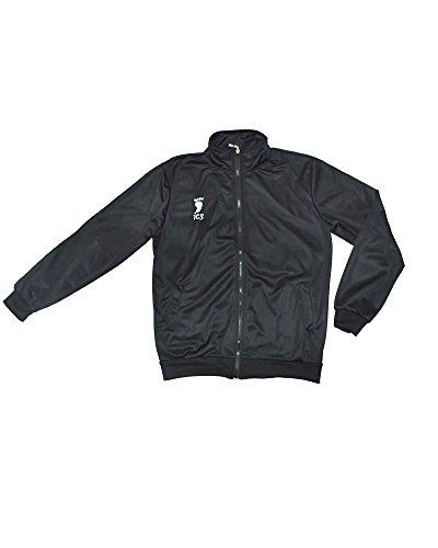 Miccostumes Mens Haikyu!! Karasuno High Shōyō Hinata Sportswear Jacket Jersey Extra Large Black